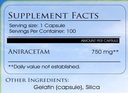 aniracetam capsules