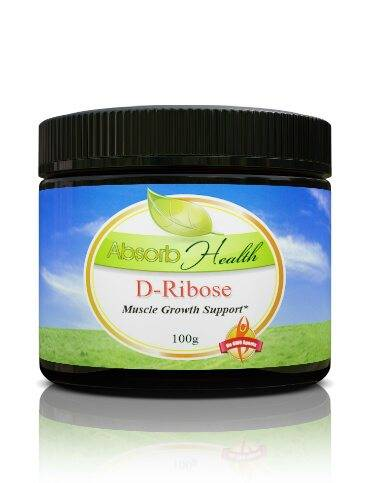 Jar D-Ribose Powder Absorb Health