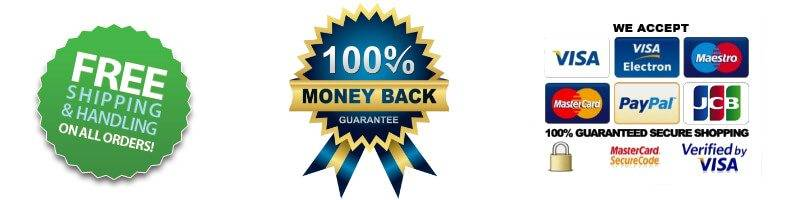 Free shipping Money Back Guarantee