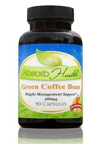 Green Coffee Bean Extract Capsules Supplement